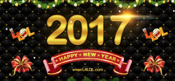Happy New Year 2017 Facebook Cover Design
