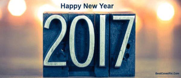 happy new year 2017 facebook cover