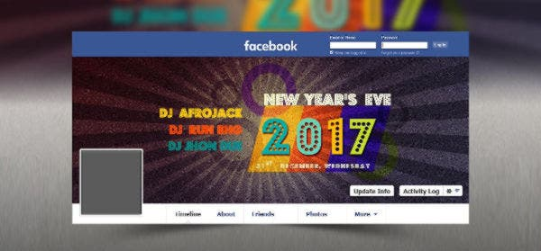 2017 Disco New Year's Facebook Timeline