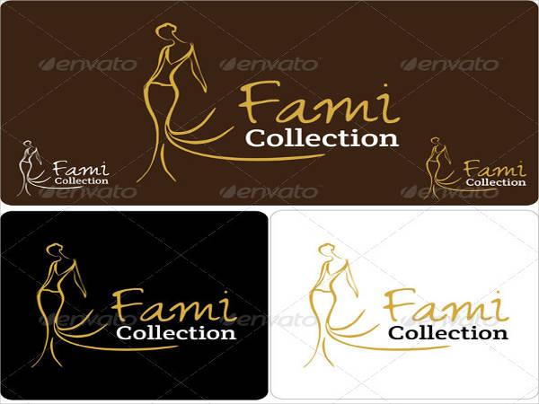 fashion cloth logo template