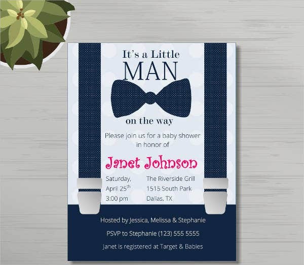 9 baby shower templates free premium templates printable baby shower invitation template pronofoot35fo Image collections