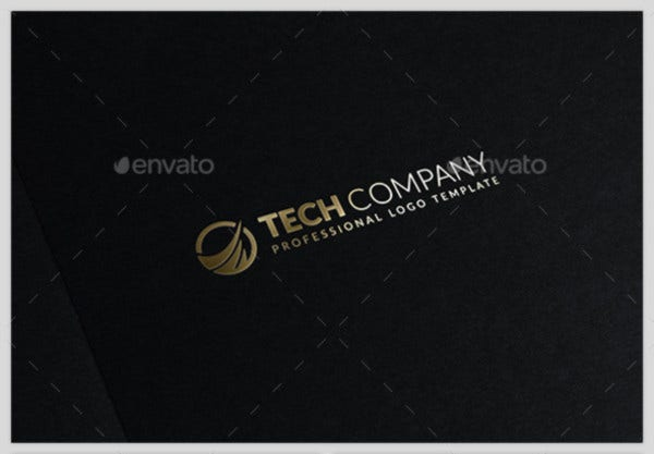 Tech Company Logo Template