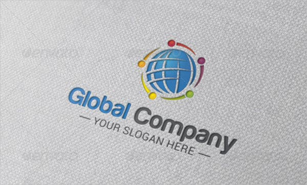 9 company logo designs psd vector ai eps format for Global design company