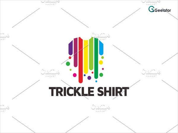 Trickle Shirt Logo Template