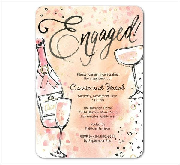 bubbly engagement engagement cards