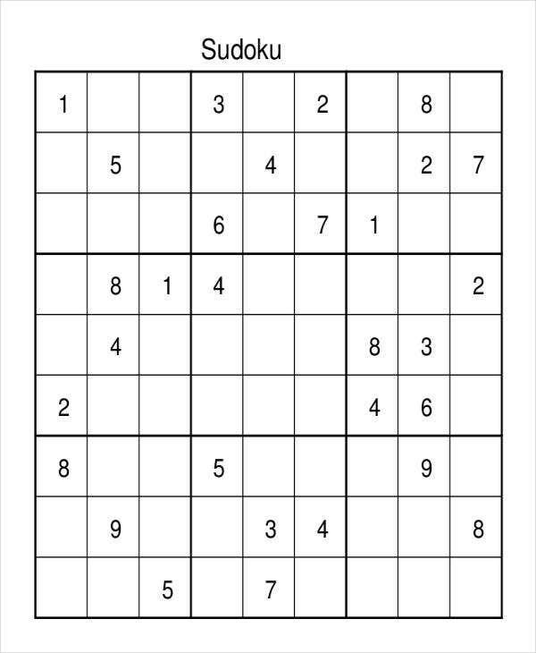 picture about Mega Sudoku Printable titled Sudoku Serious
