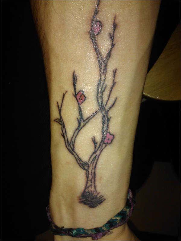 beautiful tree tattoo