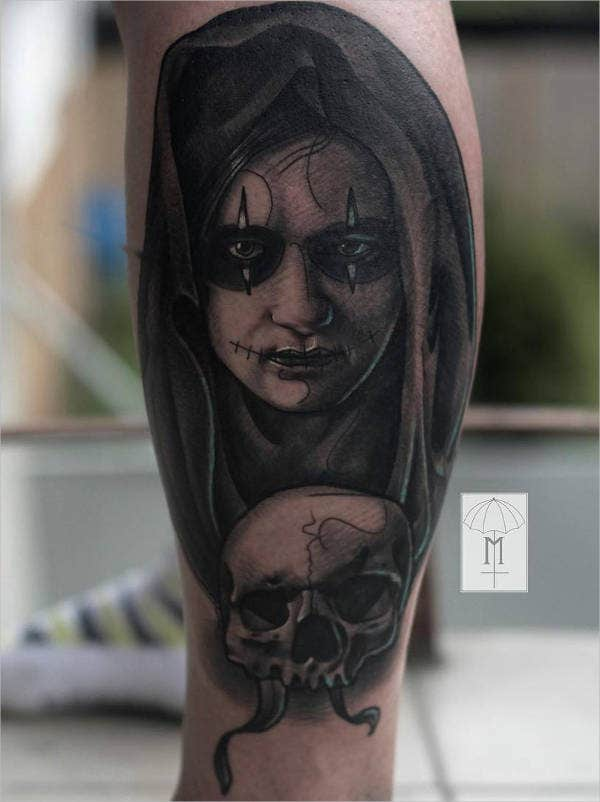 Devil Girl Tattoo