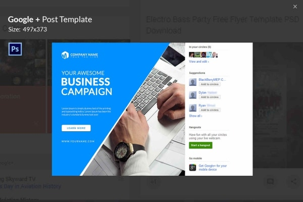 7 free google post templates business fashion maps travel are you about to start your business campaign on google plus then instead of creating a new piece from the scratch use this visually rich template to wajeb Gallery