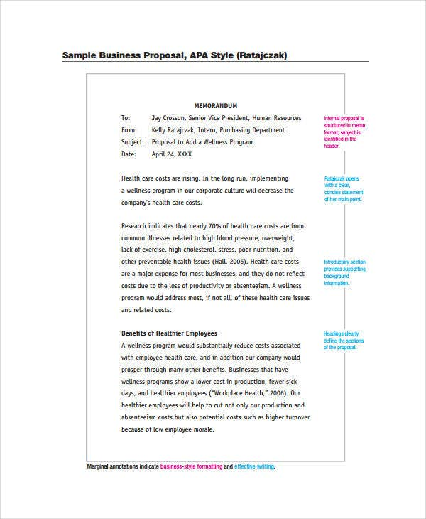 Business Proposal Format 7 Free PDF Word Documents Download – Formal Business Proposal Format