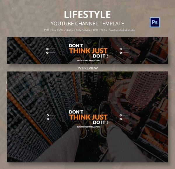 channel art template lifestyle2
