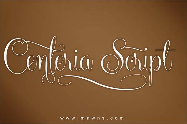 Script lettering Tattoo Font