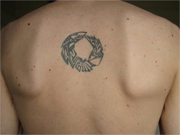 small decorative tattoo
