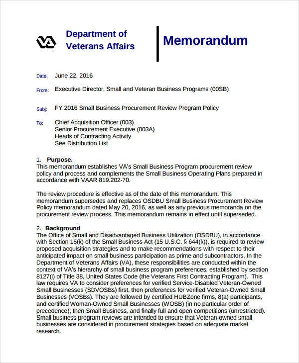Business Memo Format   To Format A Business Memorandum  Dummies