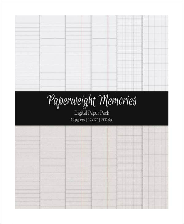 Printable Notebook Paper 9 Free PDF Documents Download – Notebook Paper Download