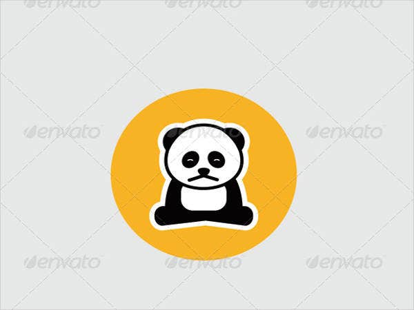 sad panda logo