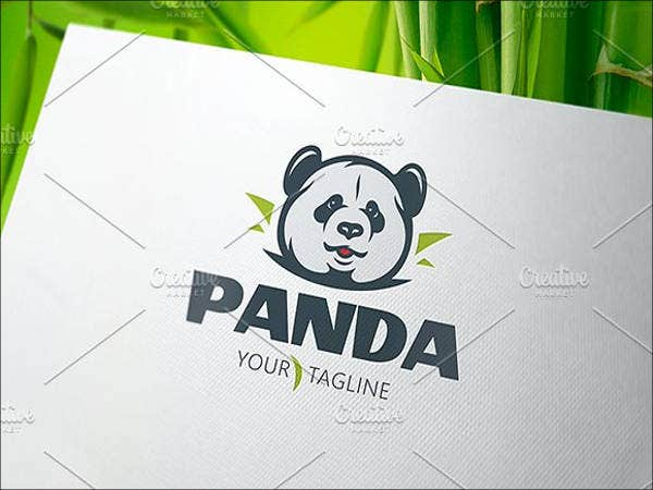 panda logo for company