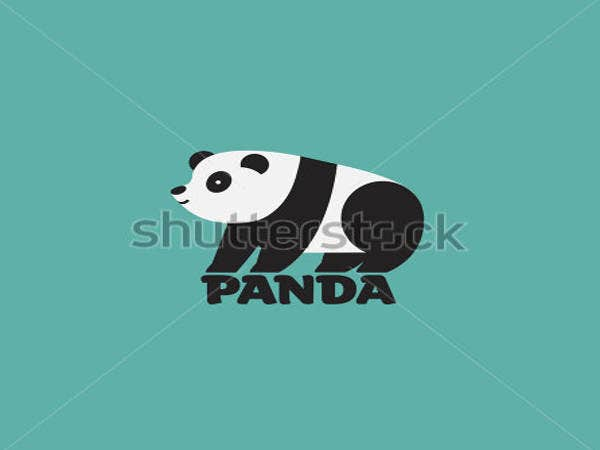 vector panda logos