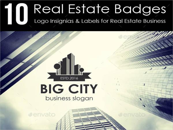 Real Estate Logo & Badges