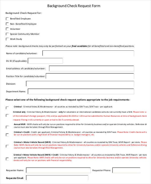 Check Request Form - 11+ Free Word, Pdf Documents Download | Free
