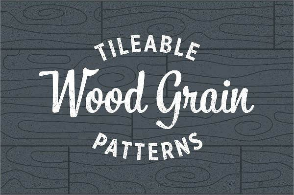 Seamless Wood Grain Patterns