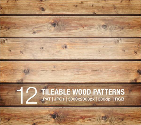 Tileable Wood Pattern