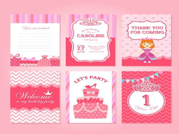 Free Princess Birthday Invitation
