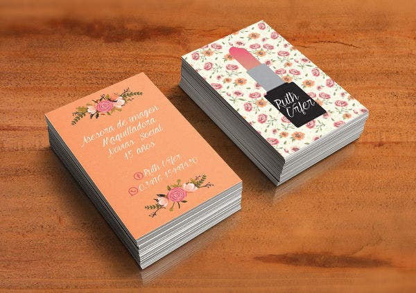 22 floral business cards free amp premium templates