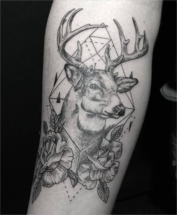 Deer Ink Tattoo