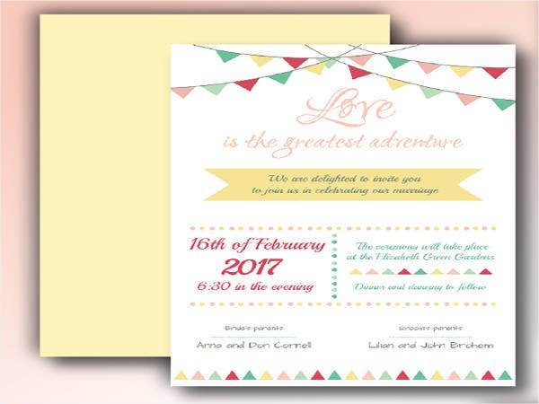 Free Wedding Invitation Suite