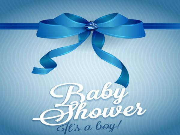 Free Its Boy Baby Shower Invitation