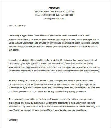 Sales cover letter 9 free word pdf documents download for Cover letter for mobile phone sales