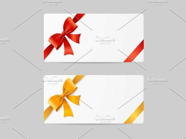 blank gift card template