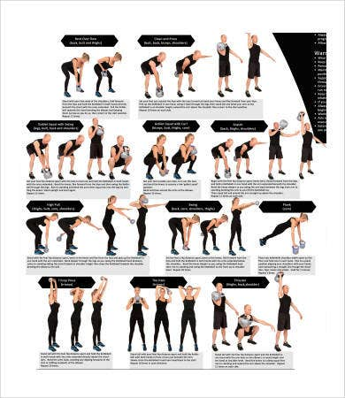 Exercise Chart   Free Pdf Documents Download  Free  Premium