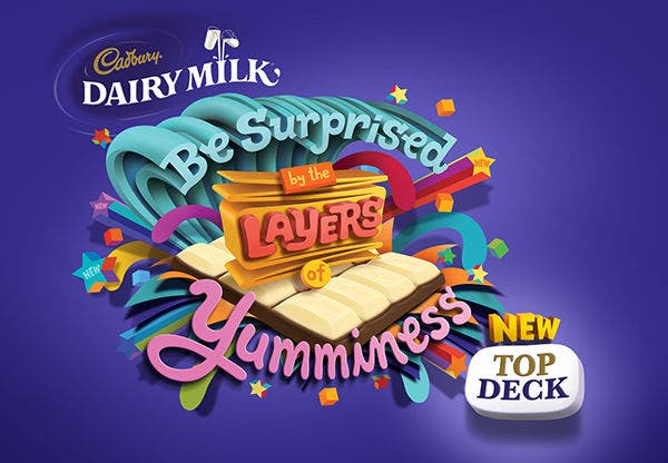 Cadbury Dairy Milk Advertising Design
