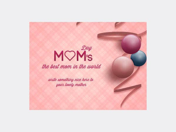 Free Mom's Day Greeting Card