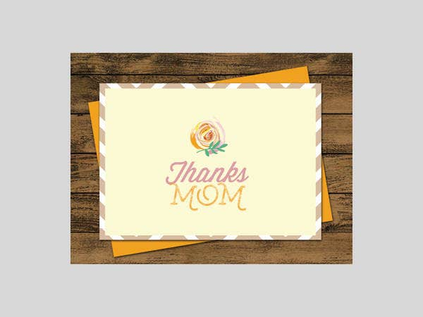 Free Simple Mothers Day Card