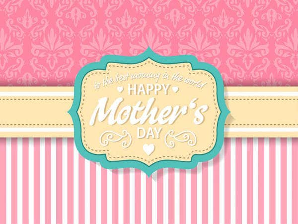 Free vintage Mothers Day Card