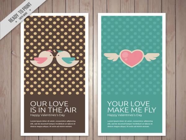 Free vintage Printable Valentine Card
