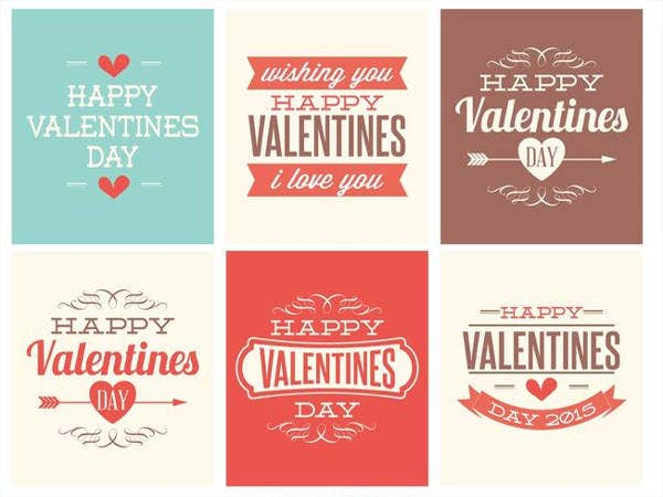 Free Cute Mini Valentines Day Cards