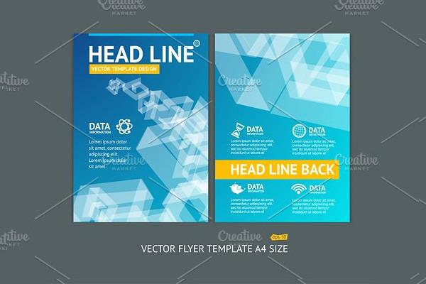Vector Geometric Shape Brochure