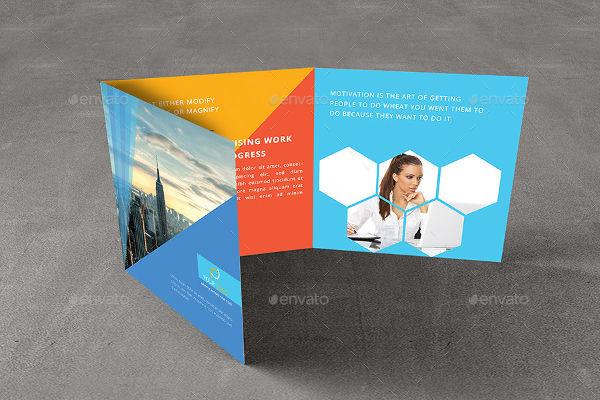 Modern Square Geometric Brochure