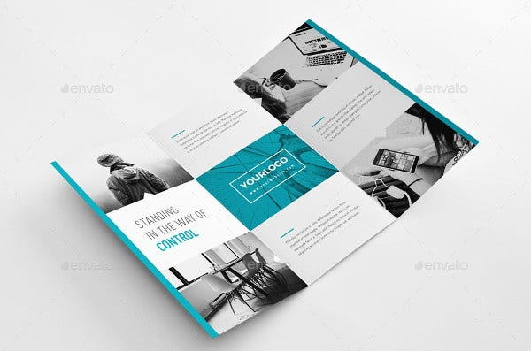 20 examples of geometric brochure designs free premium templates