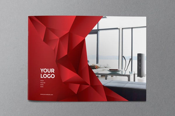 20 examples of geometric brochure designs free for Make interior design online