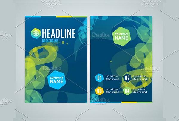 Geometric Swirl Brochure Flyer