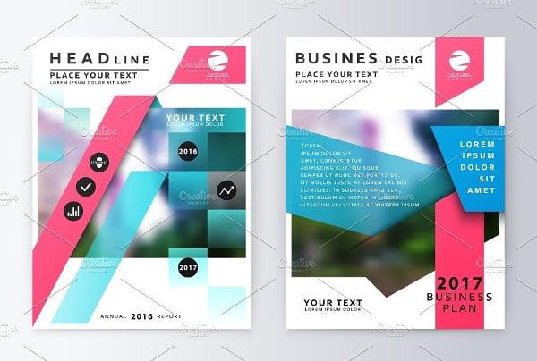 Geometric Brochure Brochure Template