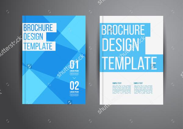 Geometric Abstract Modern Brochure