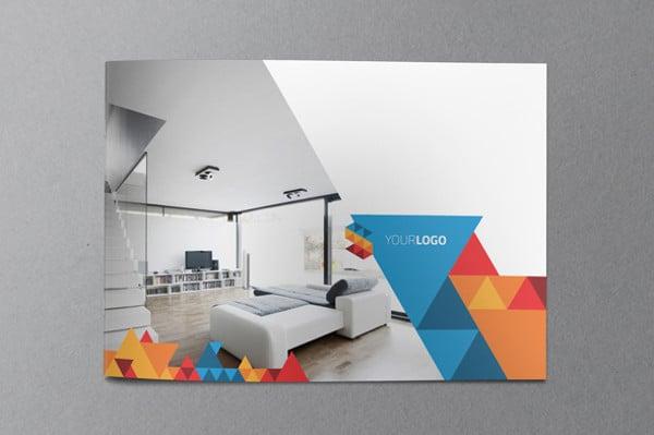 Geometric Interior Design 20+ examples of geometric brochure designs | free & premium templates