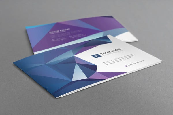 20+ Examples Of Geometric Brochure Designs | Free & Premium Templates