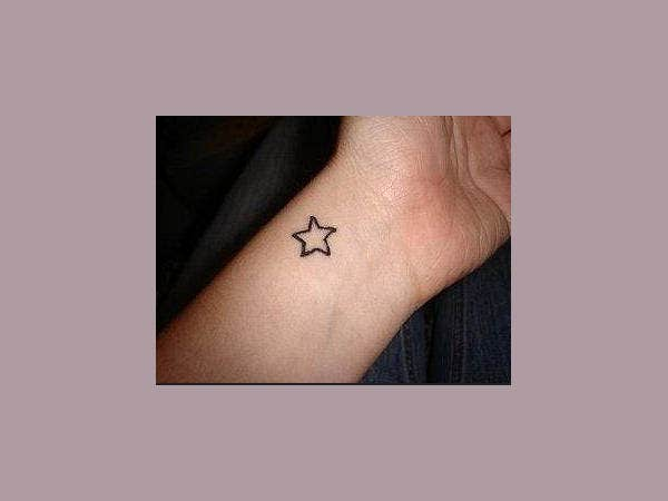 Small Star Tattoo For Girls